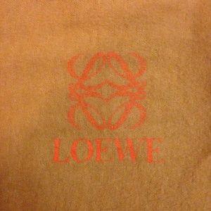LOEWE Felt Dust Bag